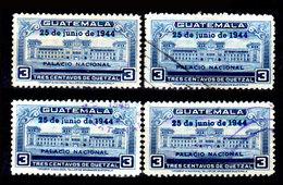Guatemala-0120 - Emissione 1944 (o) Used - - Guatemala