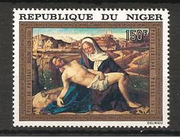 NIGER - 1973 GIOVANNI BELLINI Pietà Martinengo (Galleria Accademia, Venezia) Nuovo** MNH - Religione