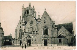 CPA, Bergues, Eglise St Martin (pk48241) - Bergues