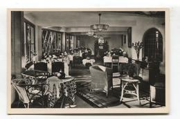 "Bergen, Noord-Holland - Hotel ""De Boschhoek"", Restaurant Interior - 1950's Echte Foto - Nederland"