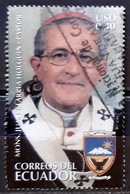 ECUADOR 2006 Death Of Juan Larra Holguin, 1927-2006. USADO - USED. - Ecuador