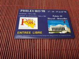 Intouch Phileuro 98 (Mint,Neuve) 2 Scans Rare - Belgium