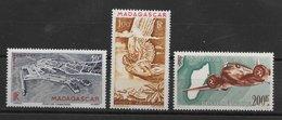 Madagascar PA N°63 à 64A 1946 ** - Madagascar (1889-1960)