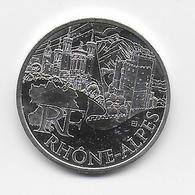 2011 - 10 EURO Des REGIONS  ARGENT - RHONE ALPES - NON CIRCULEE - Francia