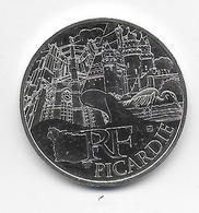 2011 - 10 EURO Des REGIONS  ARGENT - PICARDIE - NON CIRCULEE - France