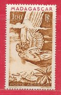 Madagascar PA N°64 100F Brun-jaune & Rouge1946 ** - Madagascar (1889-1960)