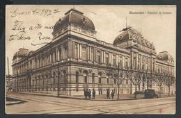 +++ CPA - Amérique - Uruguay - MONTEVIDEO - Facultad De Derecho - 1927   // - Uruguay