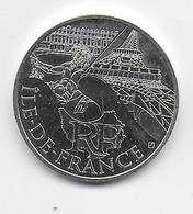 2011 - 10 EURO Des REGIONS  ARGENT - ILE DE FRANCE - NON CIRCULEE - Frankreich