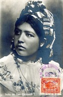 GUATEMALA INDIA DE SAN CRISTOBAL T. EDITOR HURTER QUEZALTENANGO POSTED 1926 STAMP (1) - Guatemala