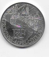 2011 - 10 EURO Des REGIONS  ARGENT - PROVENCE - NON CIRCULEE - France