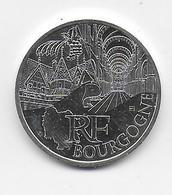 2011 - 10 EURO Des REGIONS  ARGENT - BOURGOGNE - NON CIRCULEE - France