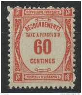 France (1927) Taxe N 58 (Luxe) - Taxes