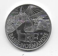 2011 - 10 EURO Des REGIONS  ARGENT - BASSE NORMANDIE - NON CIRCULEE - France