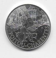 2011 - 10 EURO Des REGIONS  ARGENT - POITOU CHARENTES - NON CIRCULEE - France