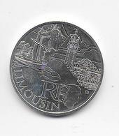 2011 - 10 EURO Des REGIONS  ARGENT - LIMOUSIN - NON CIRCULEE - France