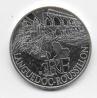 2011 - 10 EURO Des REGIONS  ARGENT - LANGUEDOC ROUSSILLON - NON CIRCULEE - France
