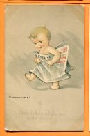 Oct113, Dont Believe All You See In The Papers, Humour, Water Color 927, Circulée 1921 - Neonati