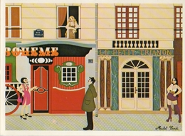 Illustrateur Michel Cordi, Rue Pigalle Prostitution - Autres Illustrateurs