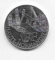 2011 - 10 EURO Des REGIONS  ARGENT - HAUTE NORMANDIE - NON CIRCULEE - France