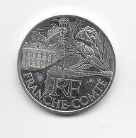 2011 - 10 EURO Des REGIONS  ARGENT - FRANCHE COMTE - NON CIRCULEE - Francia