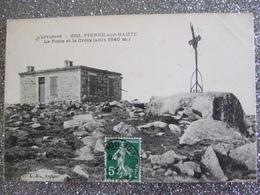 PIERRE SUR HAUTE / LOT DE 3 JOLIES CARTES / DESCRIPTIFS ET PHOTOS - France