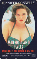 Télécarte Japon / 110-016 - CINEMA - MULHOLLAND FALLS ** JENNIFER CONNELLY ** - MOVIE Japan Phonecard - M 10253 - Cinema