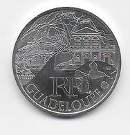 2011 - 10 EURO Des REGIONS  ARGENT - GUADELOUPE - NON CIRCULEE - France