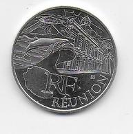 2011 - 10 EURO Des REGIONS  ARGENT - REUNION - NON CIRCULEE - France