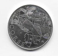2011 - 10 EURO Des REGIONS  ARGENT - CORSE - NON CIRCULEE - France