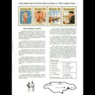 JAMAICA 1989 - Scott# 720 S/S America 500th. MNH - Jamaica (1962-...)