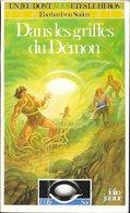 L'Oeil Noir 10 - Dans Les Griffes Du Démon - Folio Junior - 1991 BE - Jeux De Société