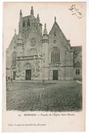 CPA Bergues, Façade De L'Eglise Saint MArtin (pk48248) - Bergues