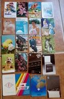 35 Calendriers De Poche Du Anee 1986. Portugal - Calendarios
