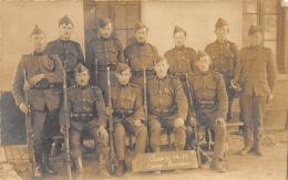 Carte-Photo Animée, Hemixem 1915 - Uniformes, Armes, Fusils - Caserme