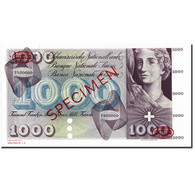 Billet, Suisse, 1000 Franken, Specimen TDLR, KM:52s, NEUF - Switzerland