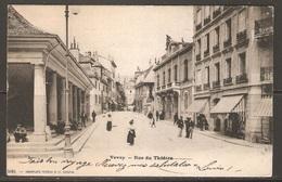 Carte P ( Suisse / Vevey / Rue Du Théâtre ) - VD Vaud