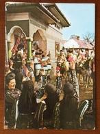 K5 Rumänien Romania Roumanie Ganzsache Stationery Entier Postal Ppsc Bildpostkarte Cod 539/68 Volksfest Trachten - Ganzsachen
