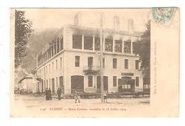 CPA 74 CLUSES Usine Crettiez Incendiée Le 18 Juillet 1904 - Cluses