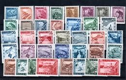 """Österrreich 1947: """"Landschaftsbilder""""kpl.Satz 738/70 Postfrisch Luxus  (siehe Scan) - 1918-1945 1st Republic"""