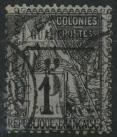 Guadeloupe (1889) N 6 (o) - Oblitérés