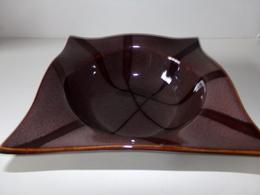 VIDE POCHE EN CERAMIQUE MARRON CARRE CHRISS COLLECTION 7.5 X 20 CM 765 GR - Ceramics & Pottery