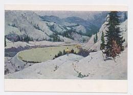 Tansykbaev 1958 Alpine Skating Rink Sports Skis Kazakhstan Medeo - Kazakhstan
