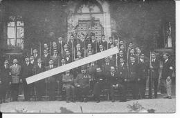 Bataillon Scolaire 1914 Fusils Gras Officier Légion D'honneur Palmes Acdémiques 1 Carte Photo Ww1 14-18 1914/1918 - War, Military