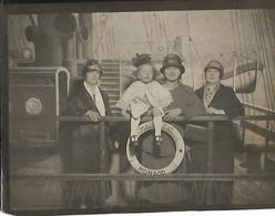 PHOTO ORIGINALE DE 9CM/12CM ANCIENNE FETE FORAINE DE NEUILLY SUR SEINE 19 JUIN 1926 LA FETE A NEUNEU HAUTS DE SEINE (92) - Photos