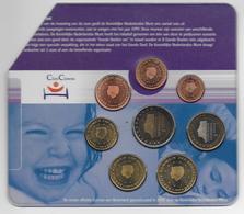 1999 - COFFRET SET COMPLET EURO - COIN COUPE - Niederlande