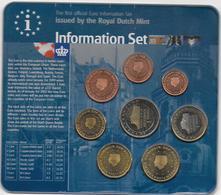 2001 - PAYS-BAS - COFFRET SET COMPLET EURO - - Pays-Bas
