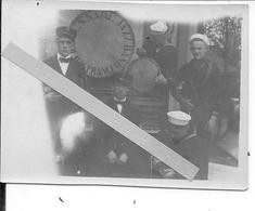 1918 Bordeaux Photo De L' US Naval Jazz Band Orchestre Marins Us Navy 1 Photo Ww1 14-18 1914/1918 - War, Military