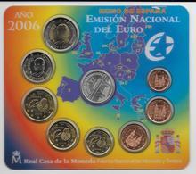2006 - ESPAGNE - COFFRET SET COMPLET EURO - - Espagne