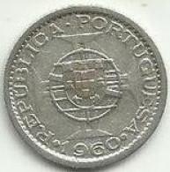 5 Escudos 1960 Moçambique Silver - Mozambique