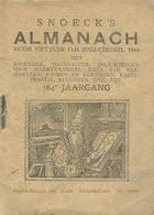 Snoeck's Almanach 1946 (9x11cm) 164e Jaargang (Gent Snoeck Ducaju En Zoon Begijnhoflaan) - Antique